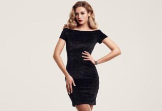 Perfekcyjna sukienka mala czarna